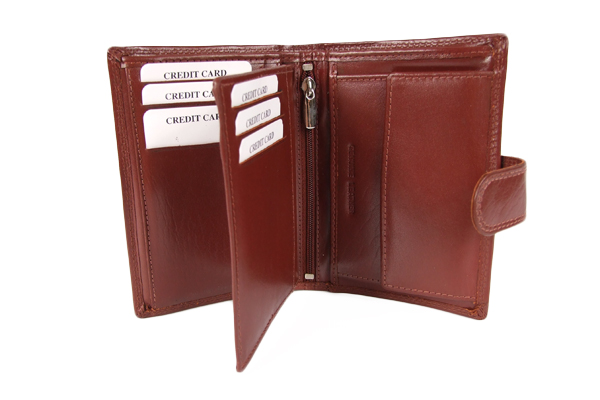 męskie portfele